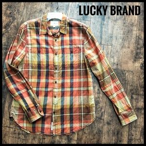 Men's Lucky Brand 'Classic Fit' Plaid Shirt